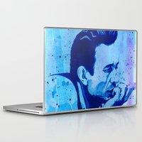 johnny cash Laptop & iPad Skins featuring Johnny Cash by Jason Hughes
