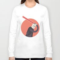 dark side Long Sleeve T-shirts featuring SIDE BY SIDE - DARK SIDE by Side by Side