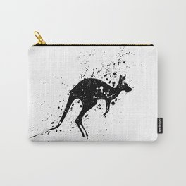 Spotted Kangaroo Carry-All Pouch