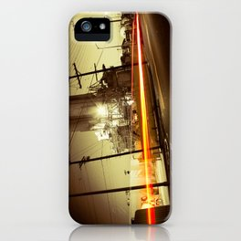 Night ride iPhone Case