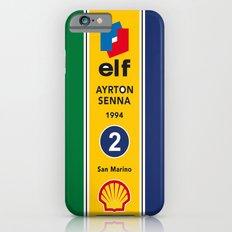 Senna, Grand Prix, Formula 1 World Championship iPhone 4 5 6, ipod, ipad case Samsung Galaxy iPhone 6 Slim Case