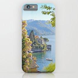Varenna Vista, Lake Como iPhone Case
