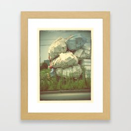 no load is too heavy Framed Art Print
