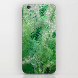 Green Lace Azalea Abstract  iPhone Skin