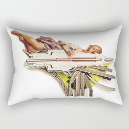 Sparklette | Collage Rectangular Pillow
