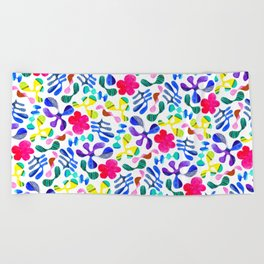 Wildwood Floral Beach Towel