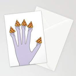 How Many Slices You Want? (White) Stationery Cards