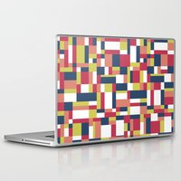 matisse Laptop & iPad Skins featuring Map Matisse #1 by Project M
