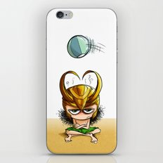 Helmets are not for the summer iPhone & iPod Skin