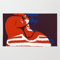 picasso Area & Throw Rugs featuring Picasso by Art Pop Store