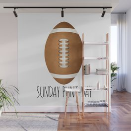 Sunday Punt-day Wall Mural