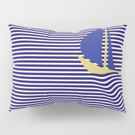 sail boat Pillow Sham