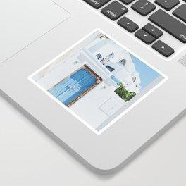 Santorini III Sticker