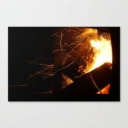 The Fire Dance Canvas Print