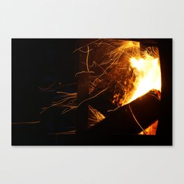 The Fire Dance Canvas Print