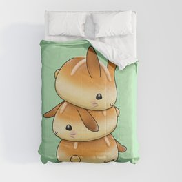 Hot Cross Bunbuns Comforters