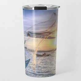 Cast the Net Travel Mug
