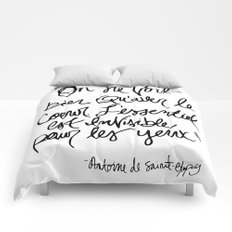 The Little Prince Quote Comforters