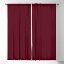 Dark Burgundy - Pure And Simple Blackout Curtain