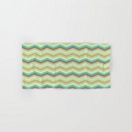 Chevron pattern Hand & Bath Towel
