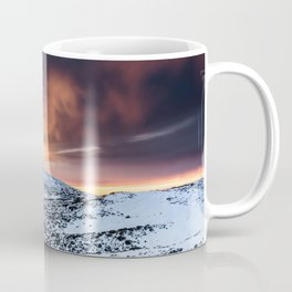 Golden hour sunset in Teide National Pak Coffee Mug