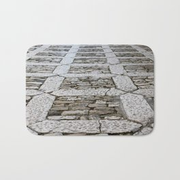 Erice floor - Sicily Bath Mat