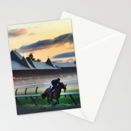 Saratoga Springs Race Course Stationery Cards
