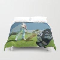 golf Duvet Covers featuring GOLF by aztosaha