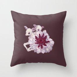 Petit Faon Throw Pillow