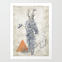 The Absurd Man Art Print