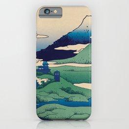 Doctor Who Mount Fuji - Mont Fuji - Tardis iPhone Case