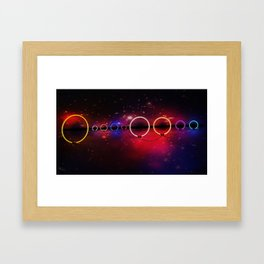 Electric Universe Framed Art Print
