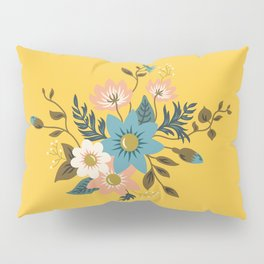 Flowers Pillow Sham