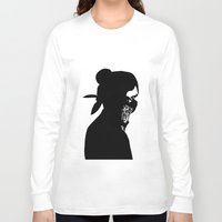 rebel Long Sleeve T-shirts featuring REBEL by Touvhe