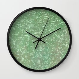 Free-Swimming Library Club Wall Clock