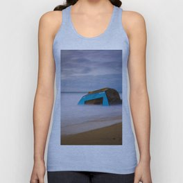 Obstacle in the Water Long Exposure (Color) Unisex Tank Top