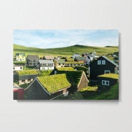 Mykines, Faroe Islands Metal Print