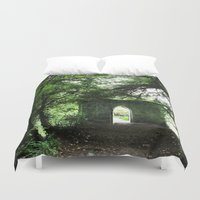 ireland Duvet Covers featuring Ireland by ericasterling
