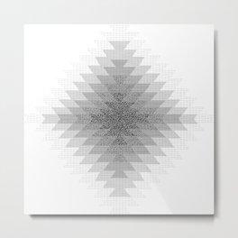 UFOlk 3 Metal Print