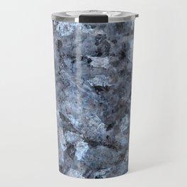 Blue Pearl Granite #1 #decor #stone #art #society6 Travel Mug