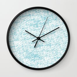 Cool Blue Wall Clock