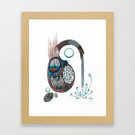 Gestazione Framed Art Print