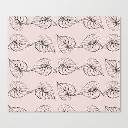 Blush botanicals Canvas Print