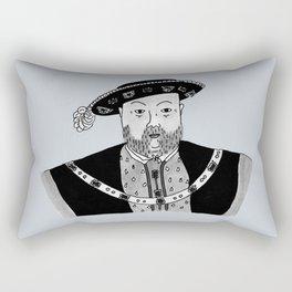 Henry VIII Rectangular Pillow