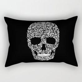 Inverse Skull Rectangular Pillow