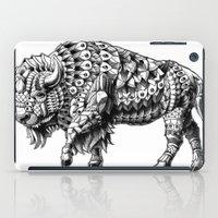 bison iPad Cases featuring Bison by BIOWORKZ