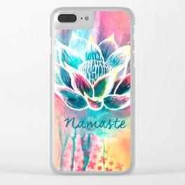 Namaste Clear iPhone Case
