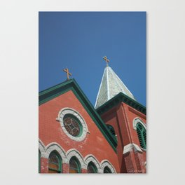 Church in Cold Spring Canvas Print