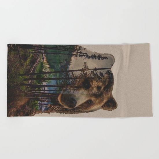 Bear Lake Beach Towel