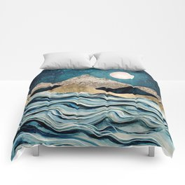 Indigo Sea Comforters